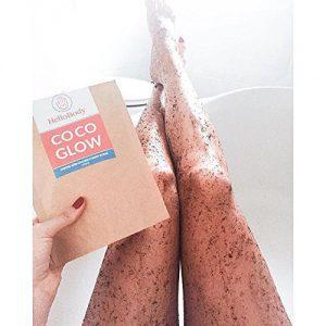 Kaffee Peeling Coco Glow, Cellulite wegbekommen